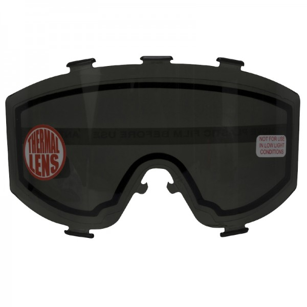 JT Elite Thermal Maskenglas - smoke