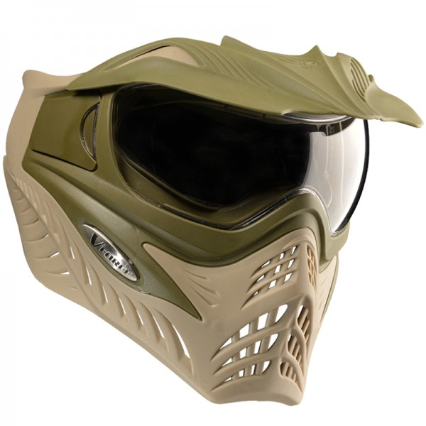 VForce Grill Paintball Maske - Olive Tan