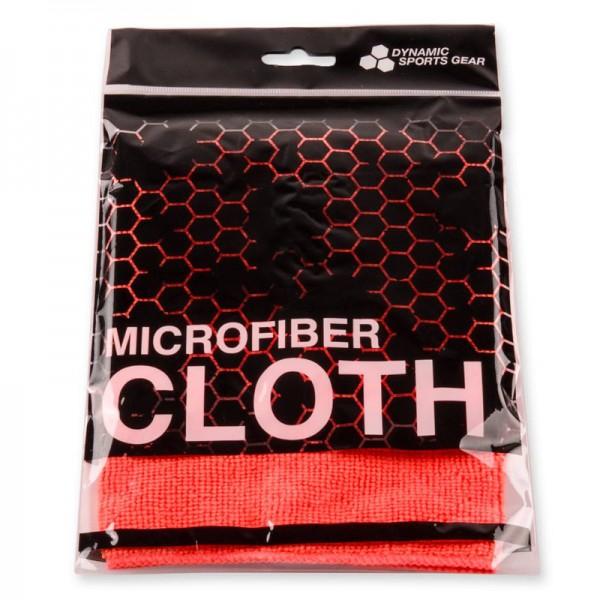 Microfasertuch / Maskentuch rot 30x30cm Dynamic Sports Gear