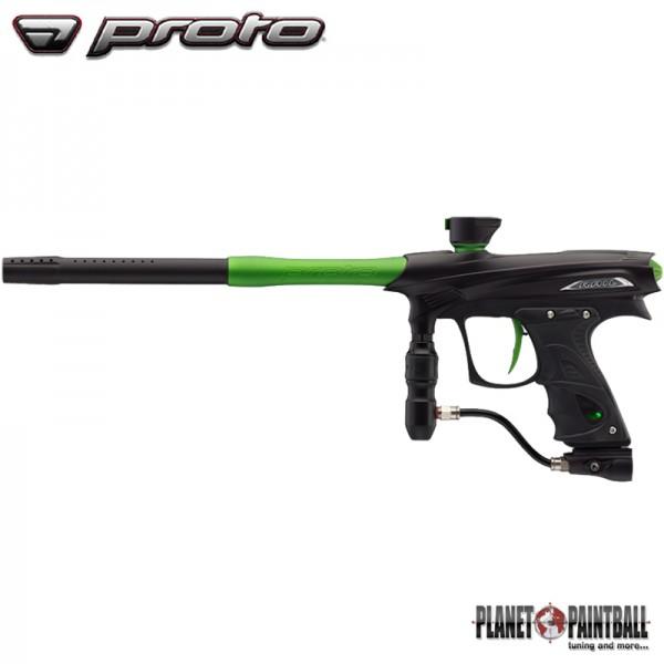 Paintball Markierer Proto Rail MaXXed - Black Lime