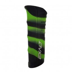 Exalt Shocker RSX Grip Skin Black Lime Swirl