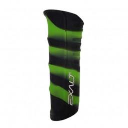 Exalt Shocker RSX Grip Skin Black Lime Swirl