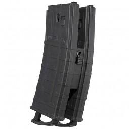 Tippmann 20-Schuss Magazin mit Coupler/ Magazinverbinder für TMC - 2er Pack - black