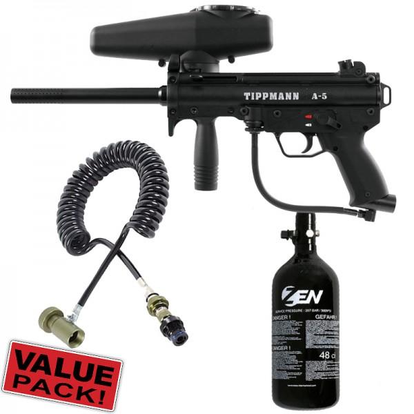 Tippmann A5 Cal.68 Value Pack