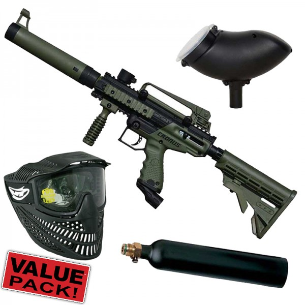 Tippmann Cronus Tactical Cal.68 Value Pack - olive