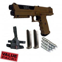 Tippmann TiPX Cal.68 Value Pack - braun