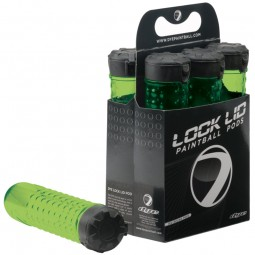 160er DYE Paintball LockLid Pod - Lime Green