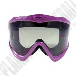JT EPS Masken Frame und Glas Clear - Purple