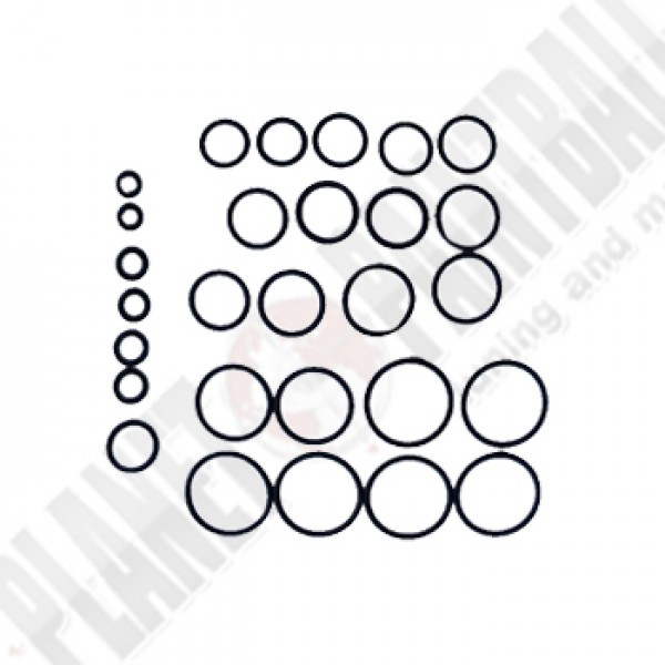 Dye DM12 - O-Ring Kit 3 x