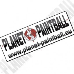 Sticker Planet Paintball groß