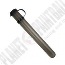 10er Paintball Tube mit Kappe