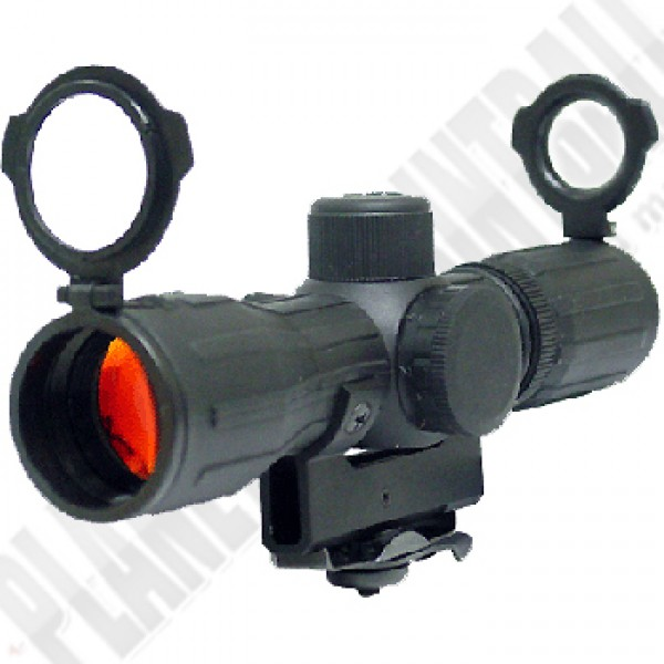 4X30 AR-15 Scope Rubber coating