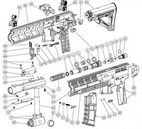 [BT TM7 TM15   17659] Bolt Guide Retention Screw