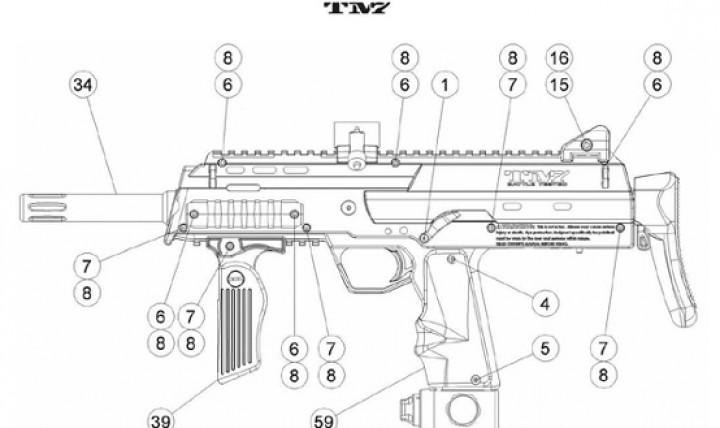 [BT TM7 TM15 | 17650] Selector Screw